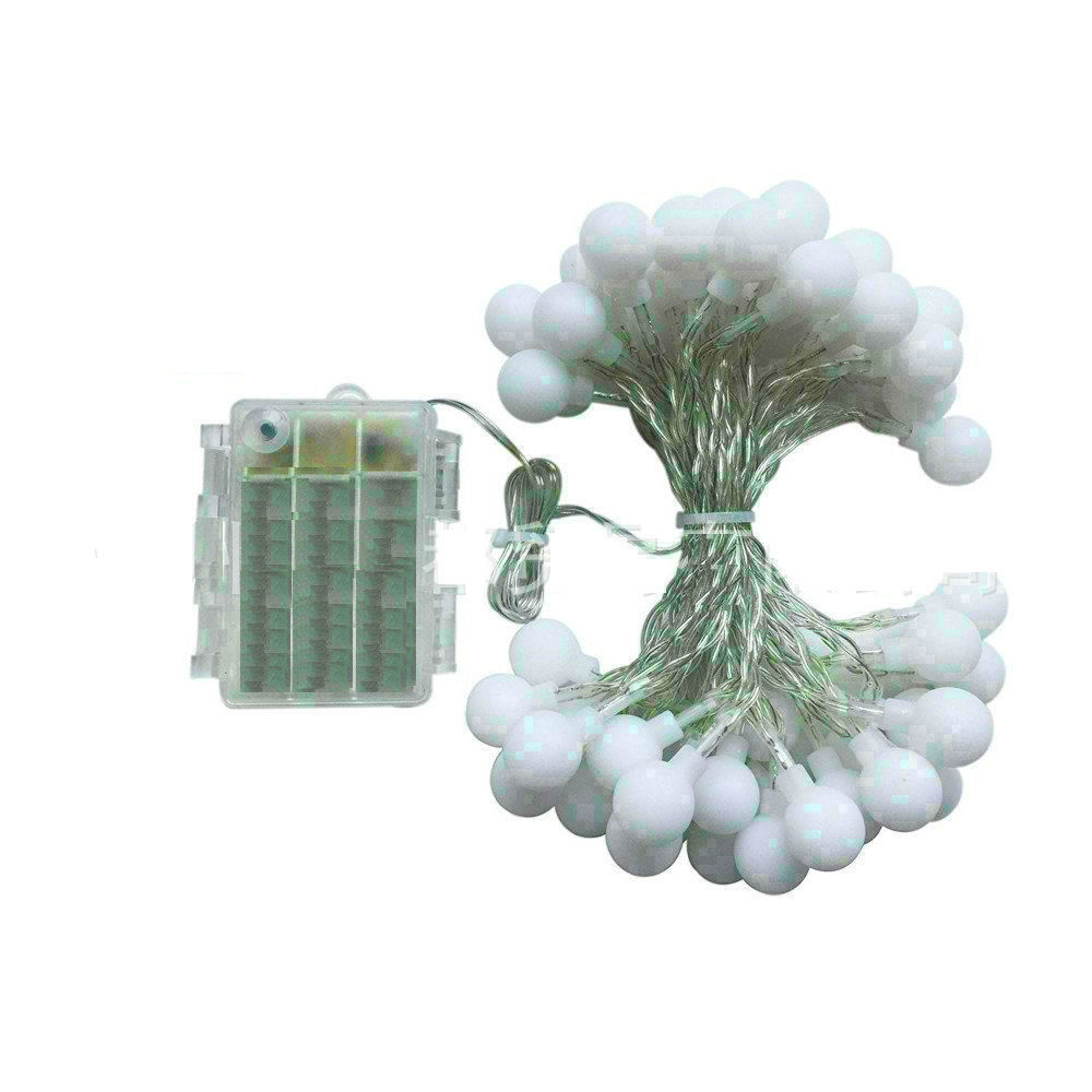 Battery Powered LED Ball Light String 2M/3M/4M/5M/10M