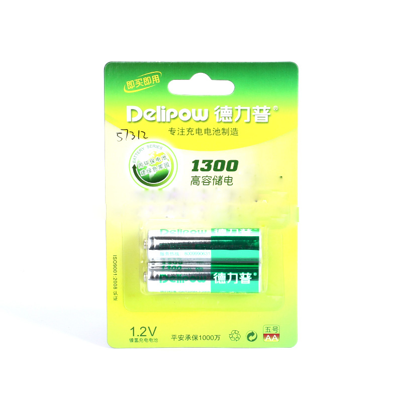 Delipow 1.2V 1300mAh AA Nickel Hydrogen Battery