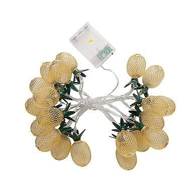 Battery Powered LED Pineapple Light String 1.5M/3M/6M