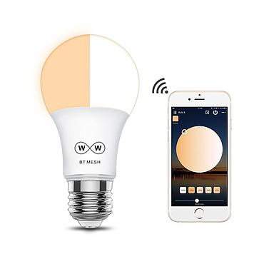 Bluetooth 4.5W RGBW Led Bulb BT Mesh Net Group Smart Led Light Color Change Dimmable By IOS / Android APP AC100-240V
