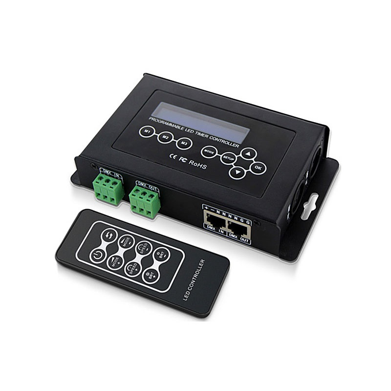 BC-100 DMX512/1990 Digital Addressable Pixel Light Control Master with Time Control Auto On/OFF