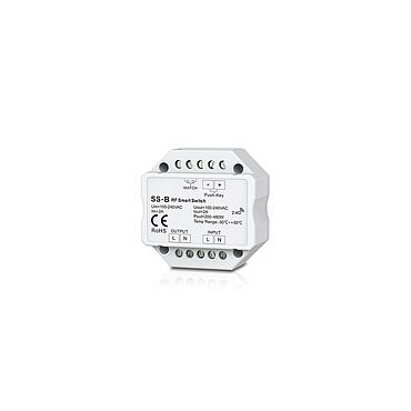 SS-B AC100-240V 1.5A RF 2.4G Non-dimmable Smart Switch with Relay Output for LED Lamp