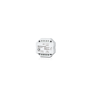 SS-C AC100-240V 3A RF 2.4G Non-dimmable Smart Push Switch with Relay Output for LED Lamp