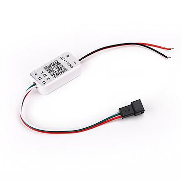 Bluetooth Conenction LED Pixel Strip Light Controller 1000 Pixel Support