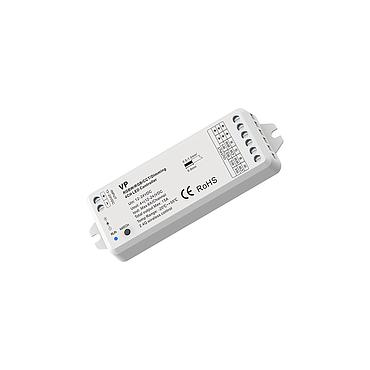 VP DC12-24V RF2.4G 4 Channel RGB/RGBW/Color Temperature/Dimming PWM CV Controller