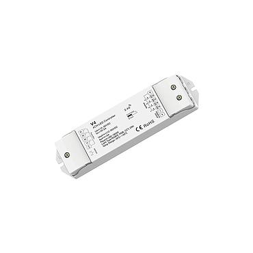 V4 DC12-36V RF2.4G 4 Channel RGB/RGBW/Color Temperature/Dimming PWM CV Controller