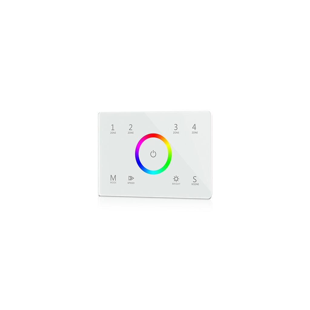 T13(IT) AC85-265V 2.4G 4 Zones RGB Touch Panel Controller for LED Lamp