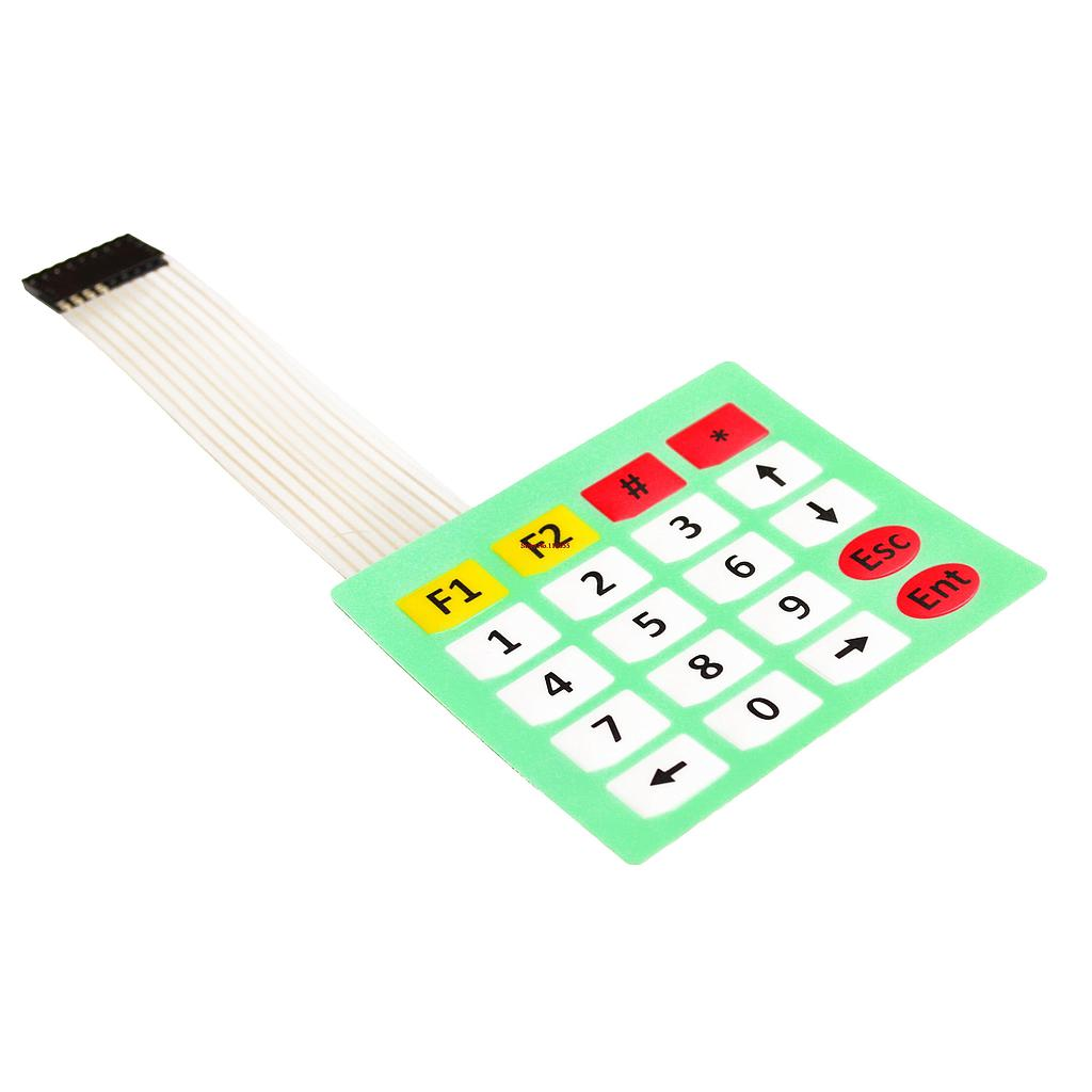 4x5 Matrix Array 20 Key Membrane Switch Keypad Keyboard