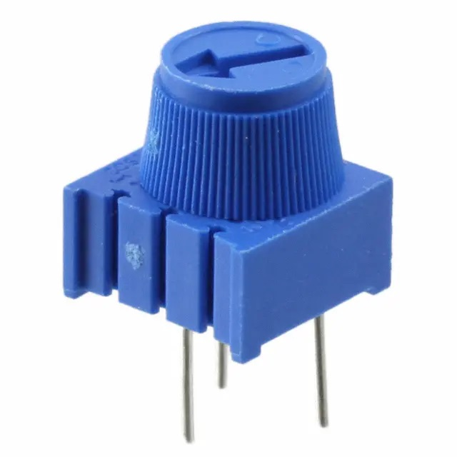 3386P-1-103 Breadboard Trimmer Potentiometer 10K Ohm with Knob 3Pin High Precision Vertical Adjustable Trimpot Resistor