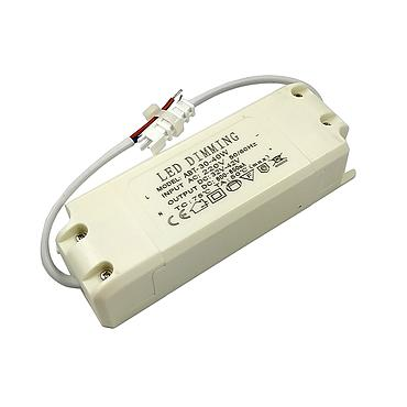 30W 25-40W Triac Dimming Driver 180V-265VAC External LED Power Transformers 900mA