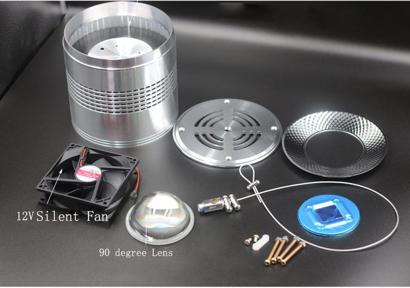 Aquarium Downlight Housing set DIY Your Own Aqua light