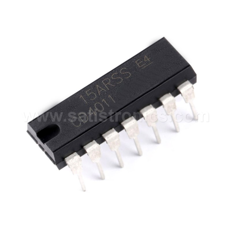 CD4011 DIP-14 Quadruple 2-input NAND Gate