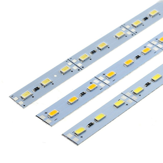 DC12V SMD 5630 Rigid LED Light Bars 36LEDs/50cm High Brightness For Kitchen Under Cabinet Showcase