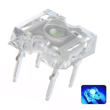 F3 3mm Piranha LED Diode Lights Round Super Flux 4 pins Emitting White/Red/Green/Blue/Yellow