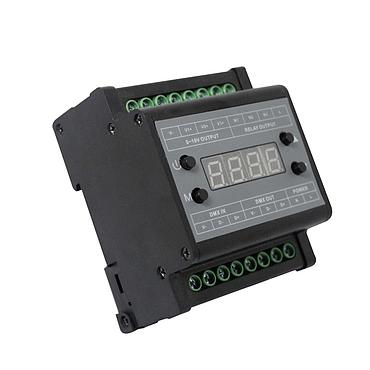 High Voltage AC90-240V 3 Channel LED DMX Output 0-10V Dimmer
