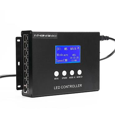 K-SY-408 Support LED Pixel Light Time Tunnel Controller with Voice and Music Control Function