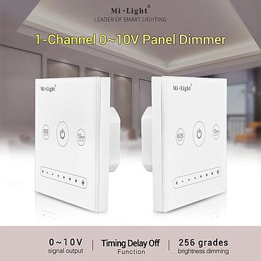 Mi light 0-10V L1 LS4 Panel Dimmer Use with WiFi Remote Controller