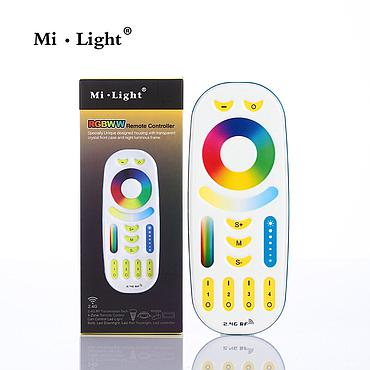 Milight FUT092 RGB+CCT Remote Controller 2 in 1 Full Touch 4-Zone Group Control for Mil.ight LED Bulb Series