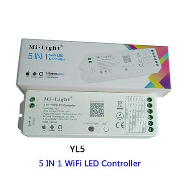 Milight YL5 2.4G 15A 5 IN 1 WiFi LED Controller