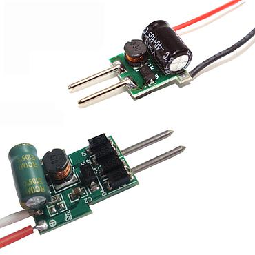 MR16 12V 1/3/4-7*1W 3*2W 1/3*3W 300/450/600mA Constant Current LED Driver AC/DC8-15V Input